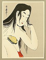 Utamaro Kitagawa 1750-1806 - Abalone Diver