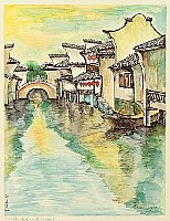 Zheng Jianhui born 1983 - Bridge - River - Home No. 3