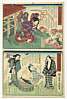 Fusatane Utagawa active ca. 1850s-90s - Girls Life