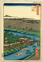 Hiroshige Ando 1797-1858 - 100 Famous Views of Edo - Yanagishima