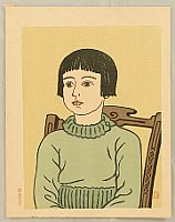 Unichi Hiratsuka 1895-1997 - Girl