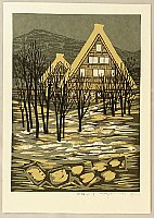 Fumio Fujita born 1933 - Silent Village in Hida - A
