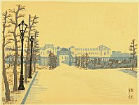 Unichi Hiratsuka 1895-1997 - Recollections of Tokyo - Akasaka Palace