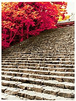 Hideaki Kato born 1954 - Staircase in Autumn