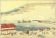 Hokuju Shotei 1763-1824 - The Eastern Capital - Shinagawa