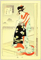 Shuntei Miyagawa 1873-1914 - Fuzoku Tsu - Beauty
