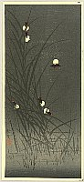 Harumitsu Utagawa fl. ca. 1930 - Fireflies in the Early Summer