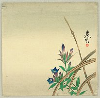 Zeshin Shibata 1807-1891 - Bell Flower
