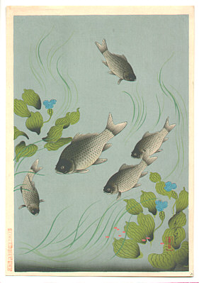 Bakufu Ono 1888-1976 - Carp