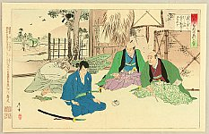 Toshiaki Nakazawa 1864 - 1921 - 47 Ronin - Kanadehon Chushingura Act.6