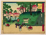 Hiroshige III Utagawa 1842-1894 - Kokon Tokyo Meisho -  Ueno