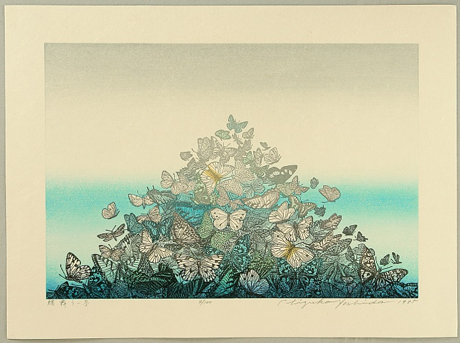 Chizuko Yoshida born 1924 - Butterflies in Winter