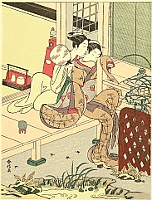 Harunobu Suzuki 1724-1770 - Whisper