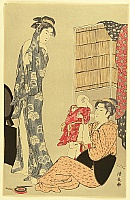Kiyonaga Torii 1752-1815 - Beauties After Bath