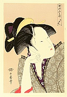 Utamaro Kitagawa 1750-1806 - Selected Poems - Contemplating