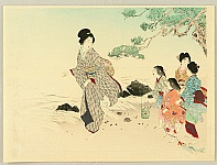 Kason Suzuki 1860-1919 - Beach Gowers