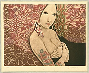 Kaoru Saito born 1931 - Flower Tattoo