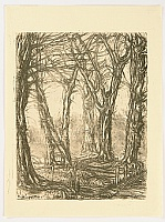 Yu Kurita 1895-1961 - Decideous Trees