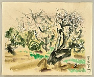 Eiichi Kotozuka 1906-1979 - Plum Trees