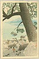 Shiro Kasamatsu 1898-1992 - Calm Morning