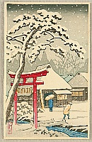 Unknown - Torii in Snow