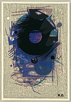 Hodaka Yoshida 1926-1995 - Blue Abstract