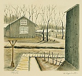 Henry Yuzuru Sugimoto 1900 - 1990 - Japanese Internment Camp - Compound