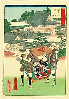 Hiroshige II Utagawa 1829-1869 - Thirty-six Prides of Edo - Yodobashi Villa