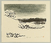Yoshiei Hando 1913 - ? - Snowy Evening