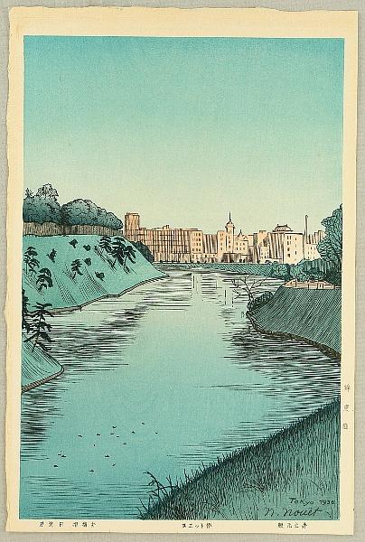 Noel Nouet 1885-1944 - Benkei Moat