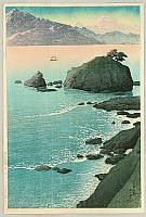 Kude Beach, Wakasa - Kawase Hasui - 1883-1957