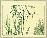 Zeshin Shibata 1807-1891 - Grain - Hana Kurabe