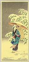 By Shotei - Spring Snow, 1936