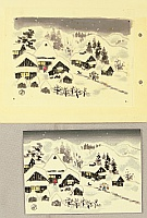 Nisaburo Ito 1910-1988 - Snowy village