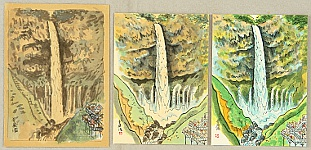 Nisaburo Ito 1910-1988 - Kegon Waterfall