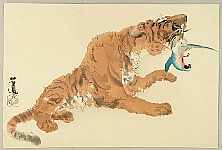 Seiho Takeuchi 1864-1942 - Twelve Zodiac Signs - Tiger