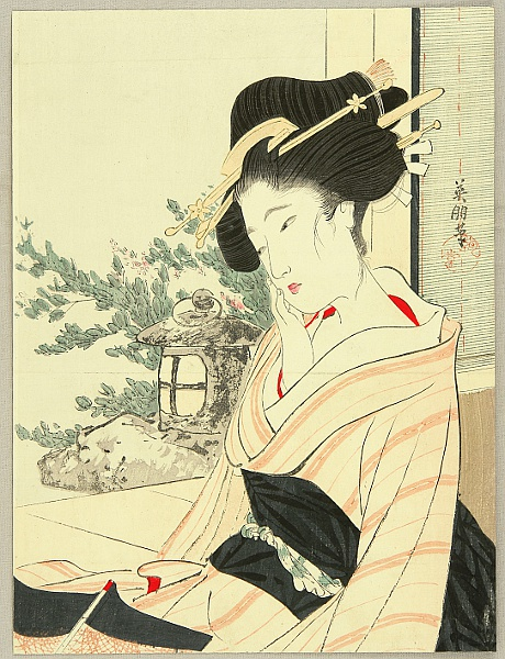 Eiho Hirezaki 1881-1968 - Melancholy