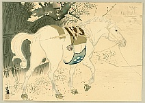 Seiho Takeuchi 1864-1942 - Twelve Zodiac Signs - Horse
