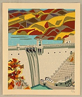 Okiie Hashimoto 1899-1993 - Hydroelectric Power Station at Igawa River