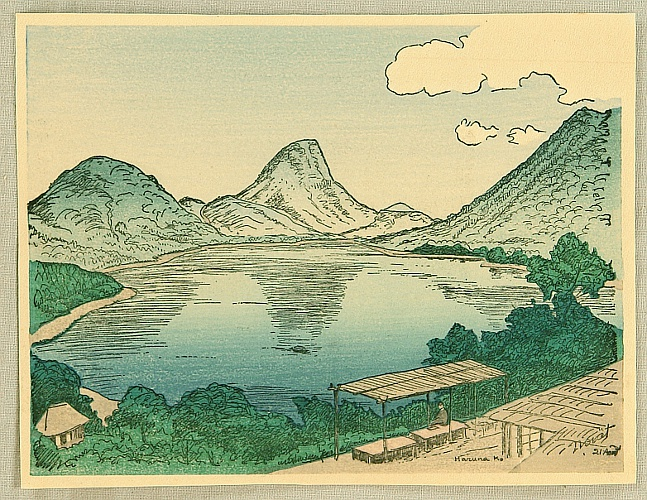 Noel Nouet 1885-1944 - Lake Haruna