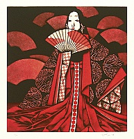 Kaoru Saito born 1931 - The Tale of Genji - Shojo