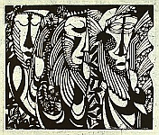 Sadao Watanabe 1913-1996 - Bible :  Three Apostles