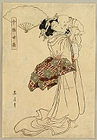 Eizan Kikugawa 1787-1867 - Mother and Child