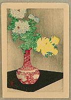 Hiroaki (Shotei) Takahashi 1871-1945 - Chrysanthemums