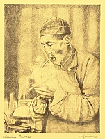 Willy Seiler 1903 - ? - Chinese Smoker