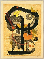 Hodaka Yoshida 1926-1995 - Child God, Yellow