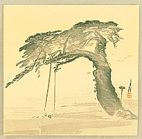 Gekko Ogata 1859-1920 - Divine Pine Tree