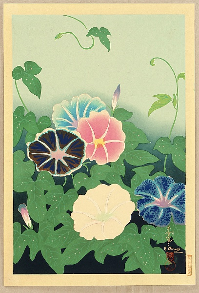 Bakufu Ono 1888-1976 - Morning Glories