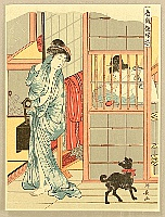 Kiyonaga Torii 1752-1815 - Taking Bath
