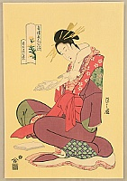 Eishi Hosoda 1756-1829 - Beauty Komurasaki